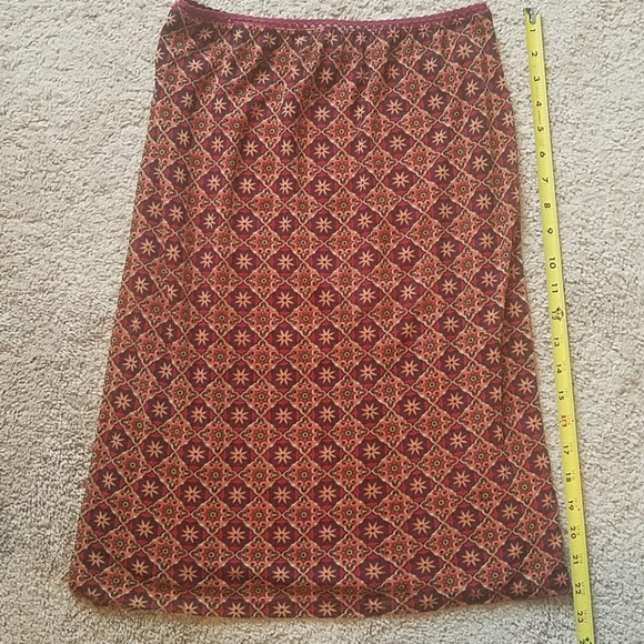 Lightweight fall colored Wanted Skirt